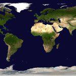 خريطة العالم كروية