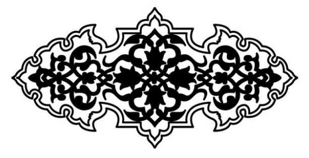 زخارف اسلامية ابيض واسود مقالات