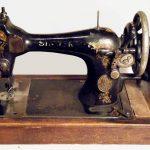 سر ماكينة الخياطة القديمة