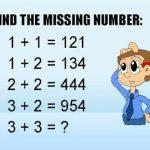 اسئلة اختبار الذكاء في الرياضيات
