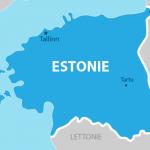 خريطة استونيا