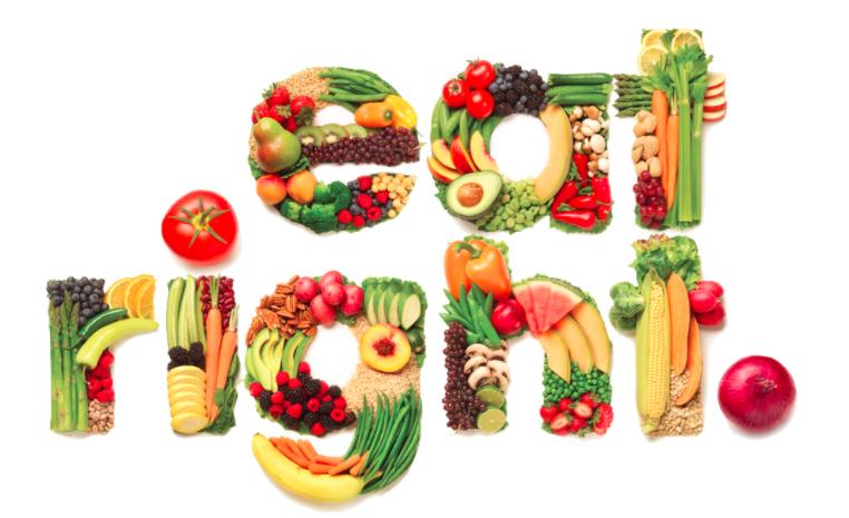 حوار بين شخصين عن الغذاء الصحي والغير صحي المرسال