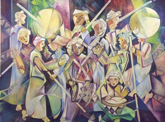 من الفنون الشعبية في منطقة الحجاز