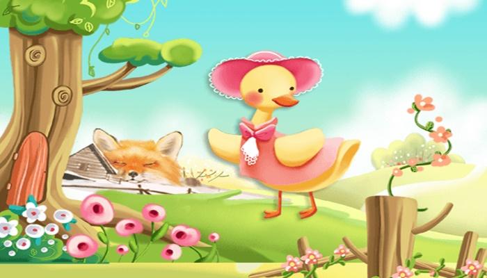 قصة البطة والارنب