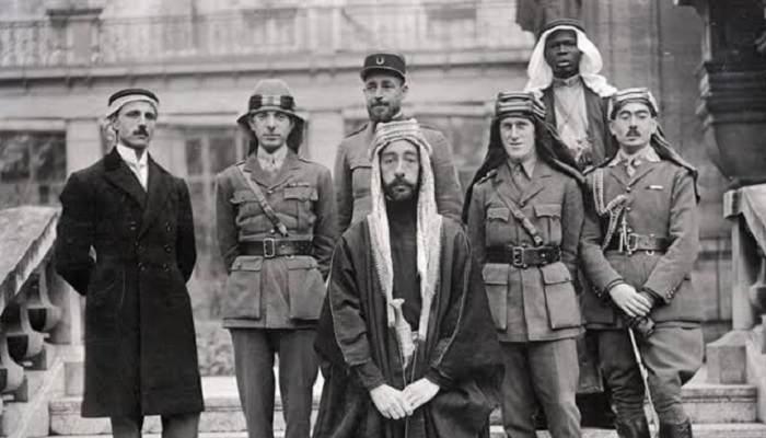 """""""هنا"""" نتائج الثورة العربية الكبرى"""