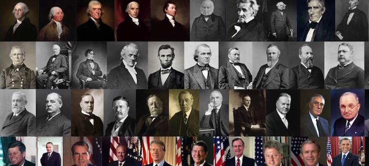 صور رؤساء أمريكا قبل وبعد فترة ولايتهم الحكم بيشيب مبتدا