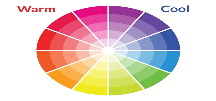 ماهي نظرية الألوان Color Theory المرسال