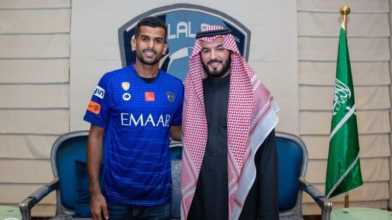 محمد الحميداني رئيس نادي الهلال الجديد   المرسال