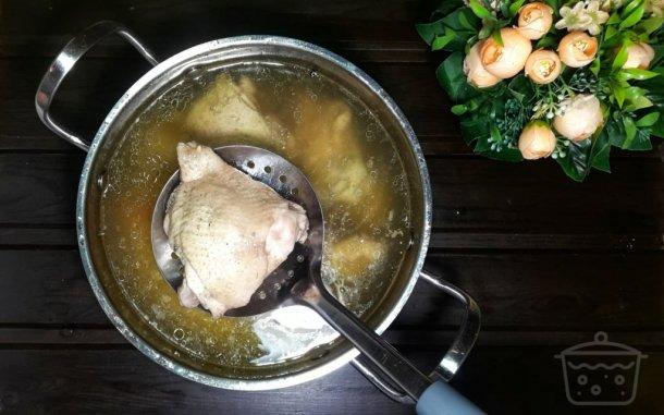 ما هي مدة سلق الدجاج المرسال