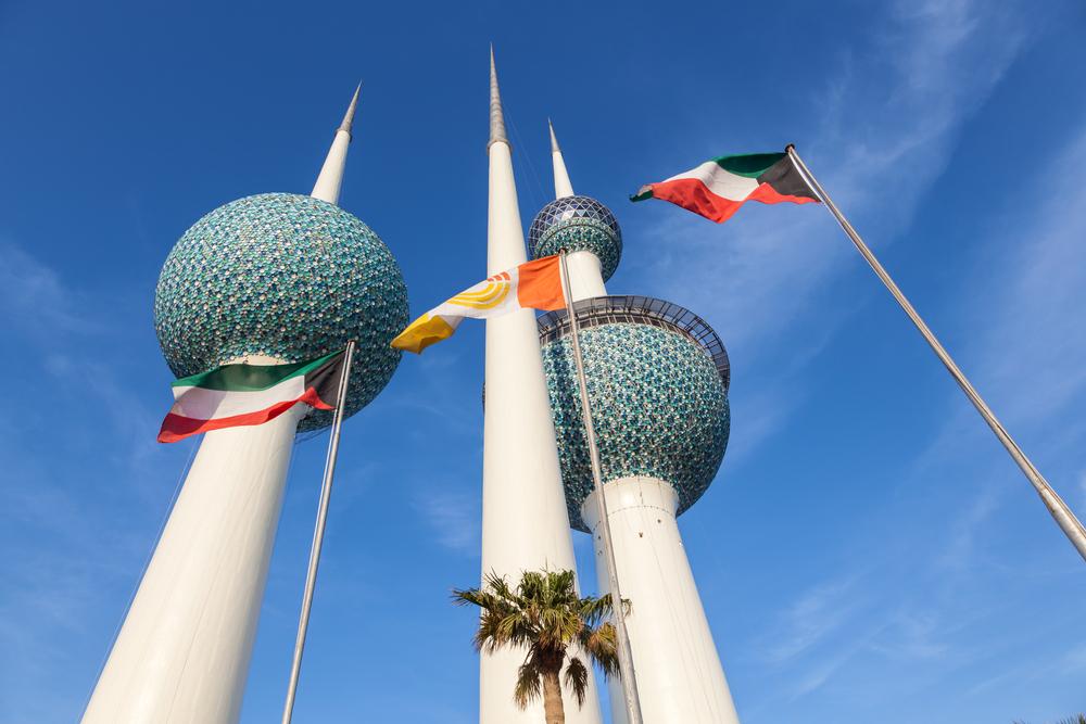 متى تم بناء ابراج الكويت